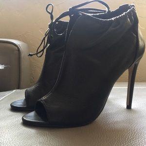 Sexy black Aldo booties
